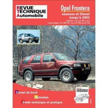 REVUE TECHNIQUE OPEL FRONTERA DE 1992 à 2003