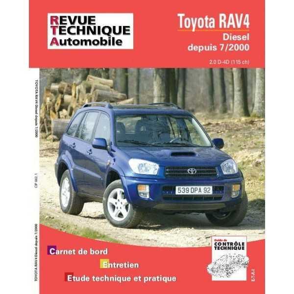 REVUE TECHNIQUE TOYOTA RAV 4 07-2000-10-2003