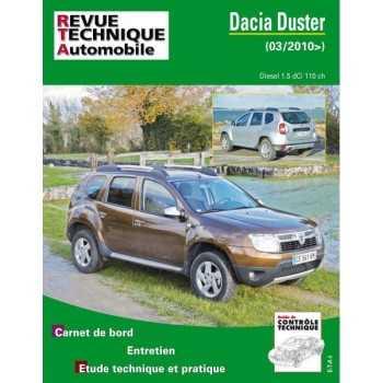 REVUE TECHNIQUE DACIA DUSTER  1.5 DCI 110 CH DEPUIS 03-2010