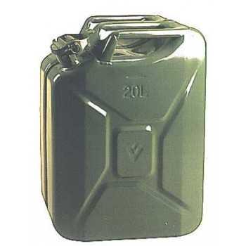 Jerrican type armée 5 litres dim. 27,5 x 25 x 11 cm