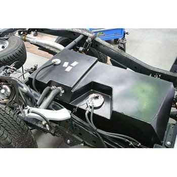 Reservoir carburant additionnel Nissan Navara D40 2005- 145L