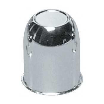 Cache moyeux fermé chromé diamètre 80 mm