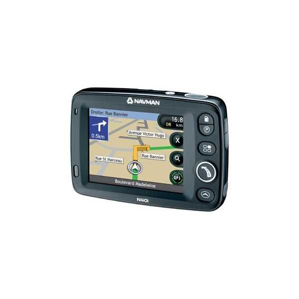 GPS NAVMAN N40I AVEC EUROPE SUR CD