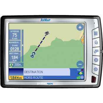 NAVIGATEUR GPS  GEOSAT 4X4