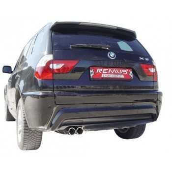 SILENCIEUX ARRIERE BMW X3 3L diesel 2006