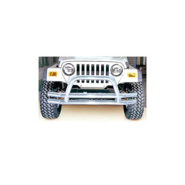 Pare choc avant inox Jeep Wrangler YJ/TJ 1976-2006