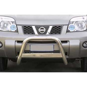 Medium bar inox 63 mm NISSAN X-TRAIL 2004-2007