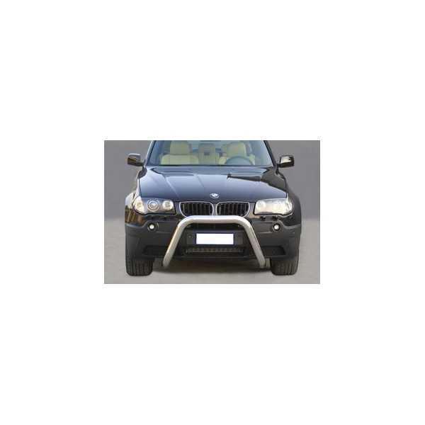SUPER BAR INOX 76MM BMW X3