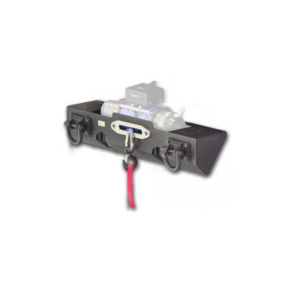 Pare chocs XHD avec support de treuil Jeep CJ 76-86, Wrangler (YJ & TJ) 87-06