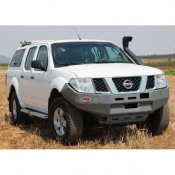 Pare chocs ASFIR a/support de treuil Nissan Navara D40 2006-2009