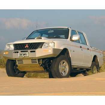 Pare choc ASFIR avec support de treuil Mitsubishi L200 1998-2001