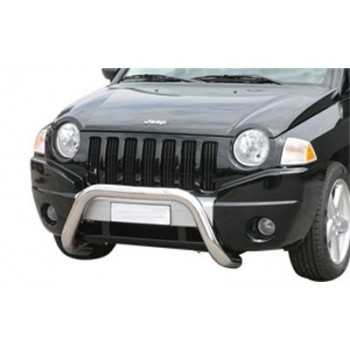SUPER BAR INOX 76MM JEEP COMPASS 2007 -