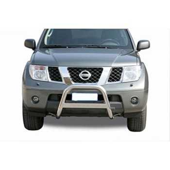 Medium bar inox 63 mm NISSAN PATHFINDER 2005-2011