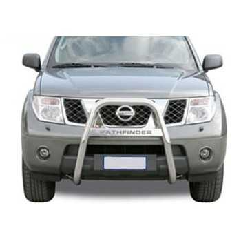 BIG BAR 63 MM INOX A-MARQUE NISSAN PATHFINDER 2005