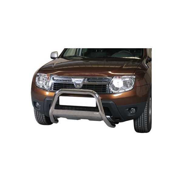 Médium bar inox 63 mm Dacia Duster 2010-2017