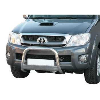 MEDIUM BAR INOX 63MM TOYOTA HILUX 2006-2011 HOMOLOGUE CE