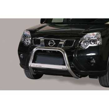 MEDIUM BAR INOX 63MM NISSAN X-TRAIL 2011- HOMOLOGUE CE