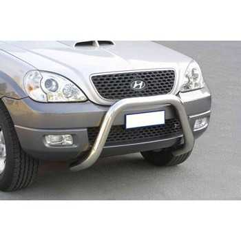 SUPER BAR INOX 76MM HYUNDAI TERRACAN 2004-