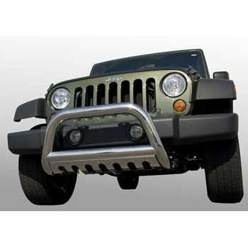 BIG BAR 76 MM INOX JEEP WRANGLER JK 2007-2009