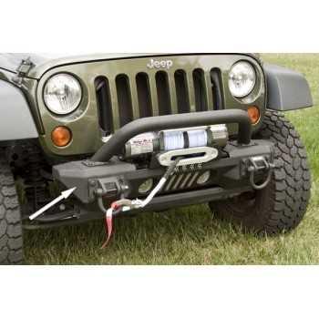 Embout de pare choc aluminium Jeep Wrangler JK 2007-2018