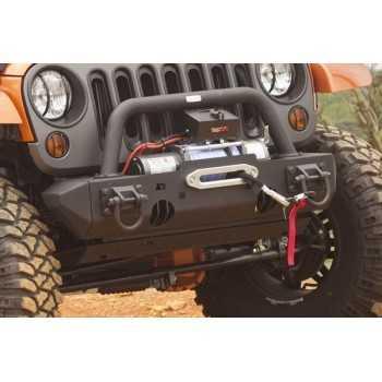 Embout de pare choc noir etroit Jeep Wrangler JK 2007-2018