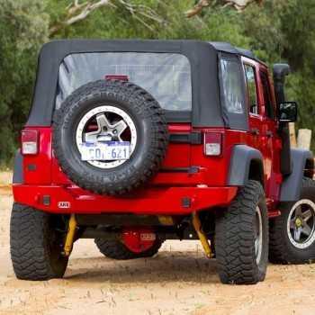 Pare choc ARB arrière avec crochet  Jeep Wrangler JK 2007-2018