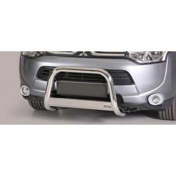 MEDIUM BAR INOX 63MM MITSUBISHI OUTLANDER 2013 - HOMOLOGUE CE