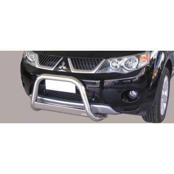 MEDIUM BAR INOX 63MM MITSUBISHI OUTLANDER 2007-2009 HOMOLOGUE CE