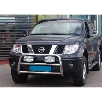 Medium bar inox 60 mm Nissan Navara D40 2005-2010