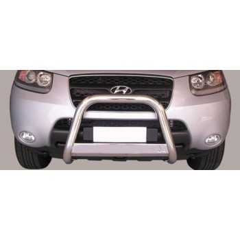MEDIUM BAR INOX 63MM HYUNDAI SANTA FE 2006-2010 HOMOLOGUE CE