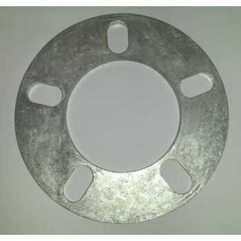 Elargisseur de voie 6 mm 5 Trous entraxe 95 mm à 120 mm