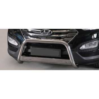 MEDIUM BAR INOX 63MM HYUNDAI SANTA FE 2012- HOMOLOGUE CE