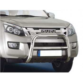 MEDIUM BAR INOX 76MM ISUZU D-MAX 2012- HOMOLOGUE CE