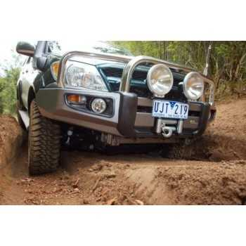 Pare choc IRONMAN black protector Toyota HDJ80