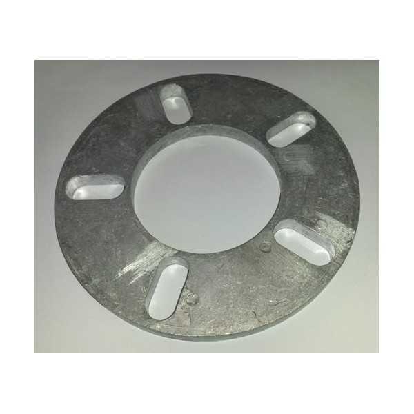 Elargisseur de voie 10 mm 5 Trous entraxe 95 mm à 130 mm