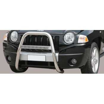 BIG BAR 63 MM INOX JEEP COMPASS 2007-2011
