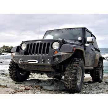 Pare choc avant AFN avec support de treuil Jeep Wrangler JK 2007-