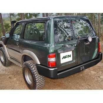 Pare choc AFN arrière noir Nissan GR Y61 1998-2005