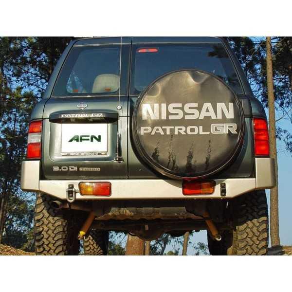 PARE CHOC AFN ARRIERE NOIR NISSAN GR Y61 1998-2006