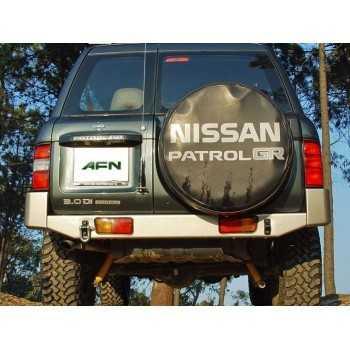 PARE CHOCS AFN ARRIERE NOIR NISSAN GR Y61 1998-2006