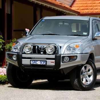 PARE CHOC ARB AVANT SAHARA BAR TOYOTA KDJ120-125 2003-2009
