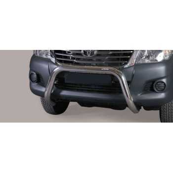 Super bar inox 76 mm Toyota Hilux Vigo 2011-2016
