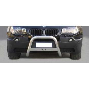 MEDIUM BAR INOX 63MM AVEC LA MARQUE BMW X3