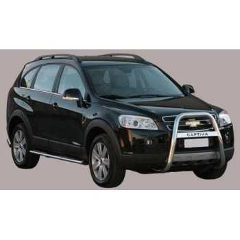 BIG BAR 63 MM INOX A-MARQUE CHEVROLET CAPTIVA 06-10