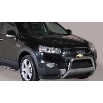 Medium bar inox 63 mm CHEVROLET CAPTIVA 2011- HOMOLOGUE CE