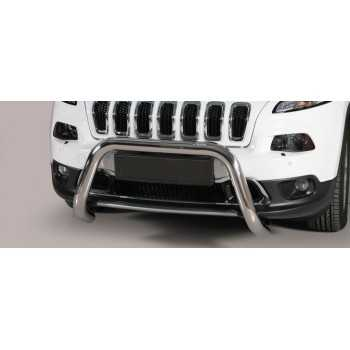 SUPER BAR INOX 76MM JEEP CHEROKEE KL 2014- HOMOLOGUE CE