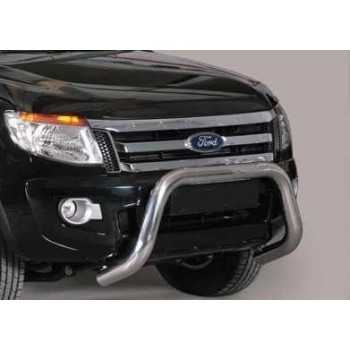 SUPER BAR INOX 76MM FORD RANGER 2012-2017 HOMOLOGUE CE