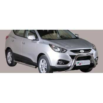 SUPER BAR INOX 76MM HYUNDAI IX35 HOMOLOGUE CE