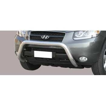 SUPER BAR INOX 76MM HYUNDAI SANTA FE 06-10 HOMOLOGUE CE