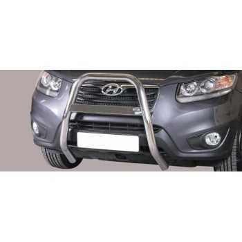 BIG BAR 63 MM INOX HYUNDAI SANTA FE 10-12